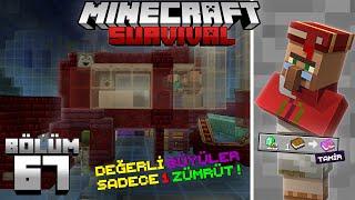 Otomatik Ucuz Ticaret Köylüsü Hazırlama Sistemi !!┇Minecraft Survival ▹Bölüm 67
