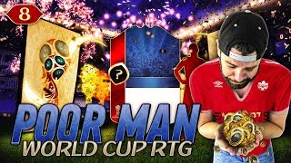 2 PERFECT ICONs PACK PULLED!! Guaranteed ICON SBCs!!! - POOR MAN WORLD CUP RTG #8 - FIFA 18