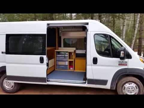 Ram Promaster Art Show Camper Van Conversion Part 2