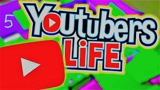 """Проект №5 """"Youtubers Life""""Пытаемся накопить на новую квартиру,набирали 2000 подписчиков"""