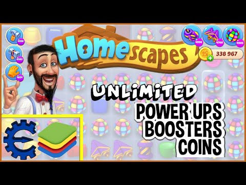 Homescapes: Never Fail Another Level - Cheat Engine/Bluestacks