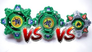 BEYBLADE BATTLE | Draciel S (BURST) VS Draciel F (PLASTIC) VS Draciel MS (HMS) - EPIC BATTLE ROYAL