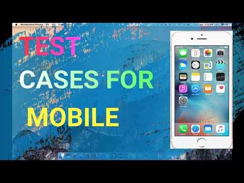 Test Cases For Mobile