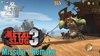Metal Slug Code: J - Metal Slug 3 Remake Mission 1 (No Damage)   MS Awakening