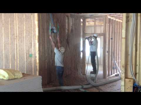 Green Fiber Cellulose by Eagle Drywall & Insulation