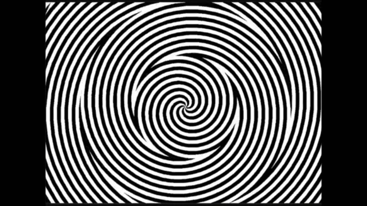 Illusion incroyabe la spirale youtube for Effet d optique 3d