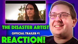 REACTION! The Disaster Artist Trailer #1 - James Franco as Tommy Wiseau Movie 2017