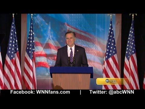 Election 2012: Mitt Romney Concedes