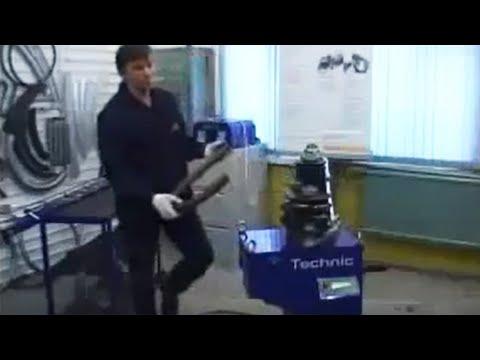 Трубогиб бездорновый с ЧПУ TECHNIC - гибка водогазопроводной трубы