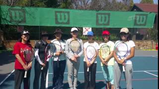 JAPANESE LADIES tennis