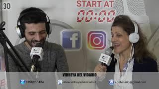 Intervista Radio Lombardia - Vidheya Del Vicario Ipnosi Milano