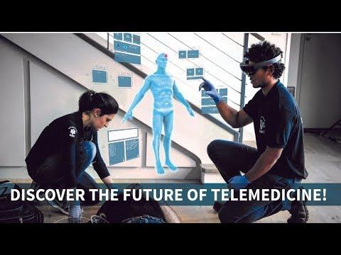Nomadeec   Future of Telemedicine with HoloLens