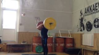 толчок 100 кг