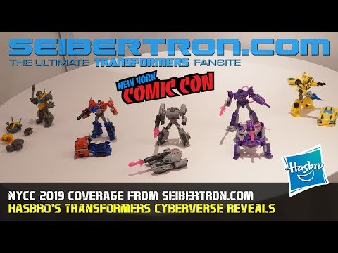 Transformers Cyberverse Deluxe Class reveals at #NYCC2019 #NYCC
