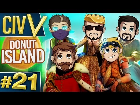 Civ V: Donut Island #21 Well Oiled Sjin