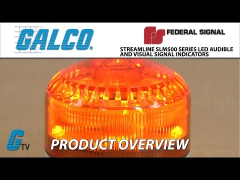 Federal Signals StreamLine® SLM500 Series LED Audible and Visual Signal Indicator
