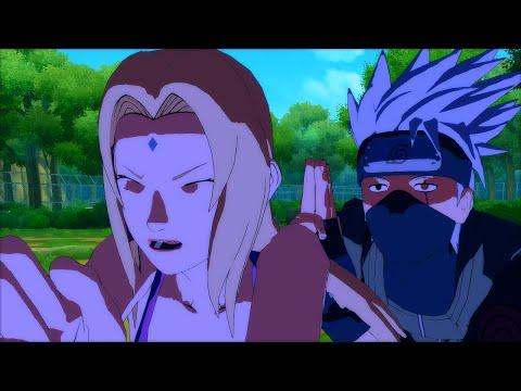 Naruto Ultimate Ninja Storm 4 PC MOD - Copy Ninja Kakashi Custom Moveset Mod Gameplay