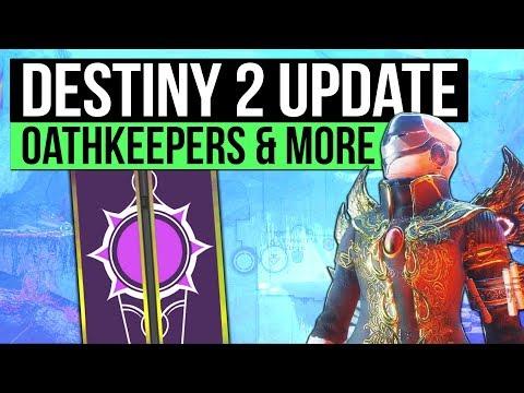DESTINY 2 NEWS UPDATE   Huge News Reveal, Oathkeeper Ratings, Season Timer & The Speaker Hint!