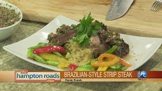 Brazilian Style Strip Steak