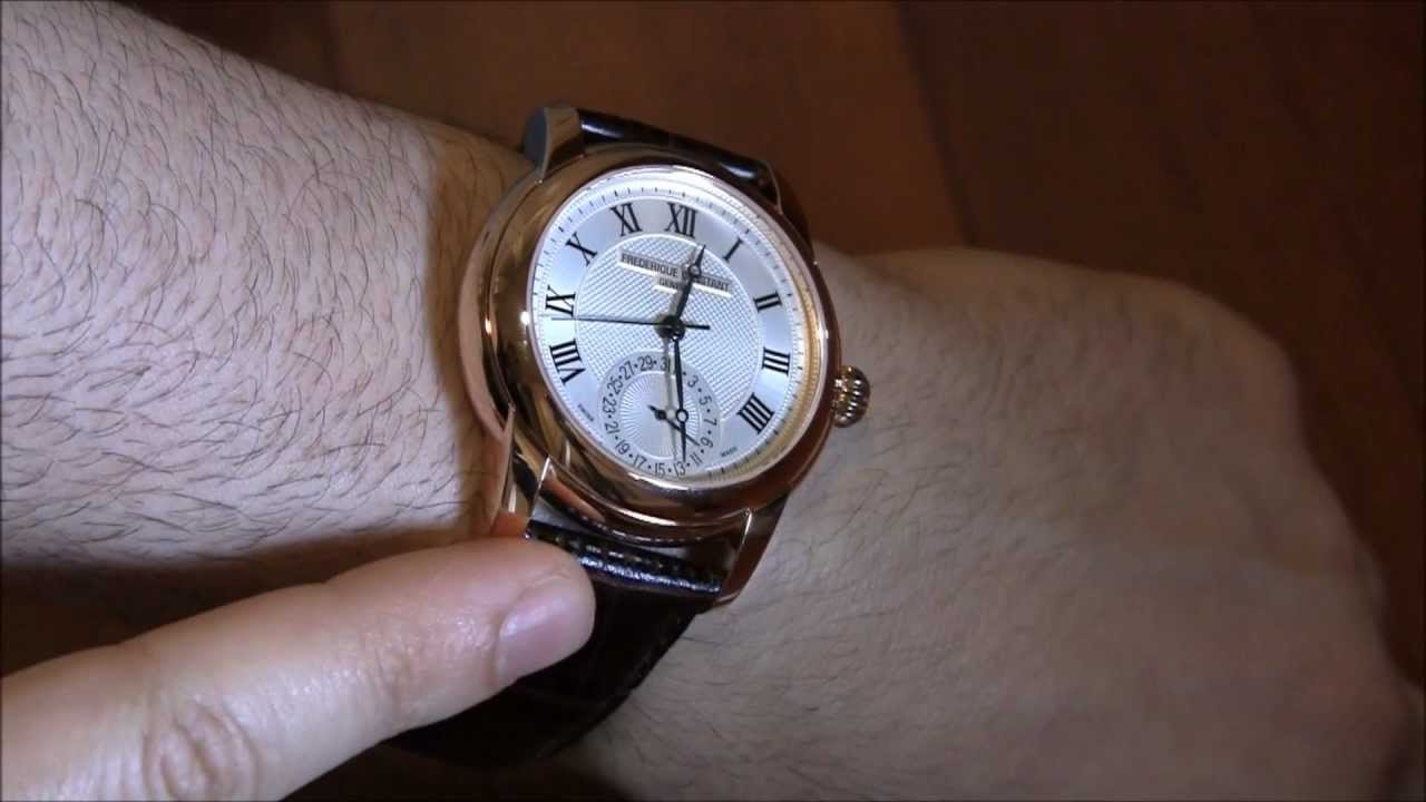 Swiss watches Frederik Constant (Frederique Constant): review, features, reviews 66