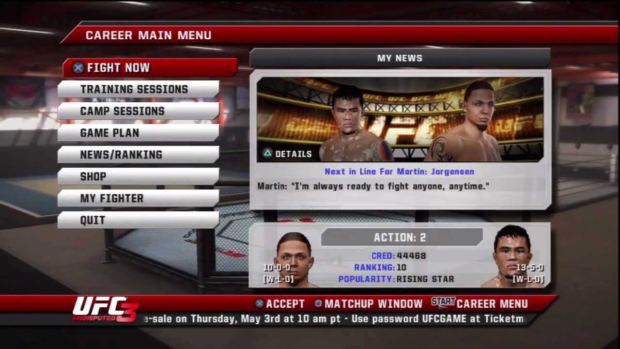 Download ufc undisputed 3 ps3.