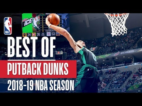 NBA's Best Putback Dunks | 2018-19 NBA Season | #NBADunkWeek