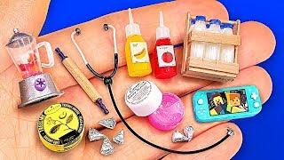 16 DIY BARBIE MINIATURES, SCHOOL SUPPLIES