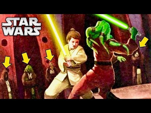 How Jedi Initiates Were Made to Duel to Become a Master's Padawan - Apprentice Tournament Explained