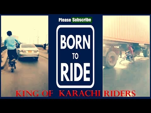Accident | Riding Under A Trailer Truck (Gone Wrong) One Wheeling Pakistan
