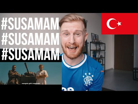 (WOW!!) #SUSAMAM - Şanışer // REACTION