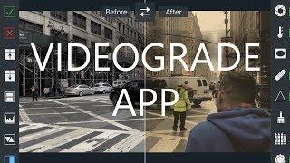 VIDEOGRADE app Filmic Pro Log Mode Mobile Filmmaking Color Grade