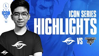 Secret Wild Rift vs Galaxy Racer Highlights | Week 1 Day 3 | Icon Series PH