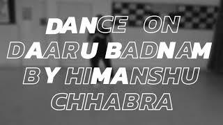Daru Badnam | kamal kahlon & param singh | basic dance choreography by | himanshu chhabra