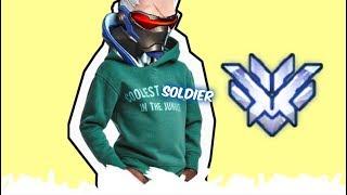 Top 500 Overwatch w/ Soldier 76 (God Mode)