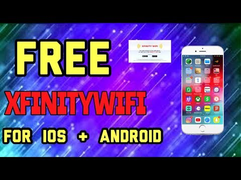 FREE Xfinity Wifi For IPHONE & ANDRIOD DEVICES!!!! ( Not Clickbait )