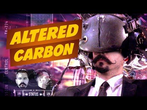 Altered Carbon e universos Cyberpunk! | Matando Robôs Gigantes