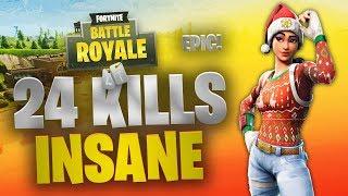 24 Kills   Team Rumble   Fortnite   No Commentary