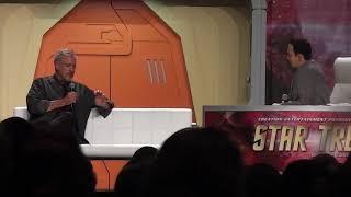 John DeLancie at the 2017 Star Trek Convention