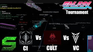 Roblox:Galaxy:Tournament:Vanguard vs Cobra Imperium vs Cultists (LARGEST BATTLE EVER)