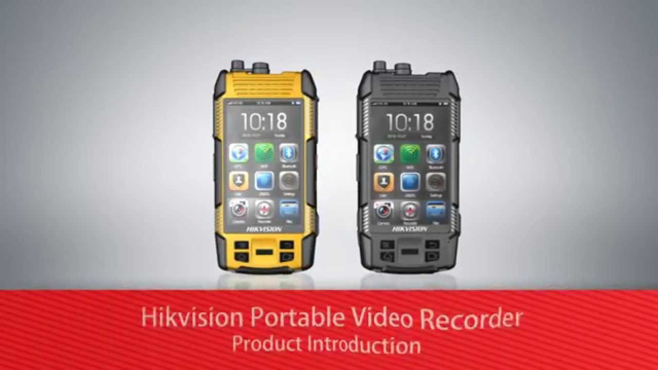 Hikvision Portable Video Recorder