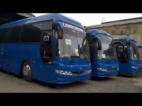 Korean Buses / Dai Woo Bus Trading - YouTube