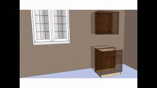 Kitchen Design Tip - Using Wall Cabinets As Base Cabinets Overview