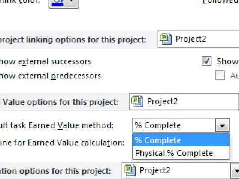 สอนโปรแกรม MSprojcet2010