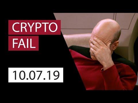 Crypto fail | Market Review by LH-Crypto | 2019.10.04