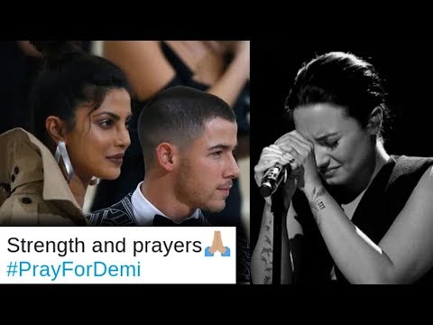 Priyanka Chopra And Nick Jonas EMOTIONALLY REACT To Demi Lovato Reported Overdose Mp3