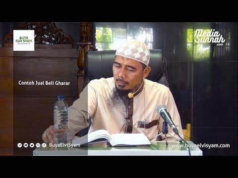 Contoh Jual Beli Gharar Oleh Buya M Elvi Syam Lc Ma Youtube