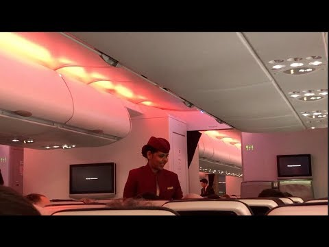 Qatar Airways Airbus A380#2 Flight Experience: QR010 London to Doha