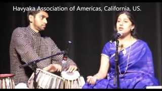 Amma naanu devarane - Sthuthi Bhat - Havyaka Convention 2013, California