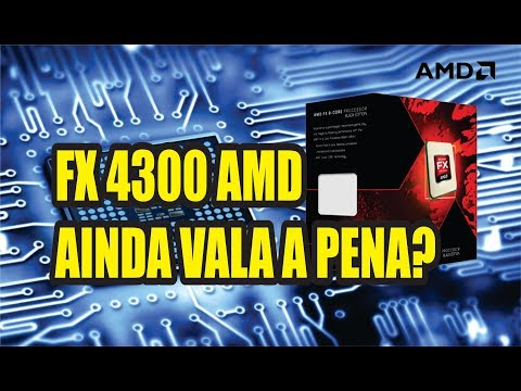 UNBOXING# FX 4300 AMD - AINDA VALE A PENA?