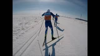 Югорский марафон 2018 от лица Антона Гафарова.